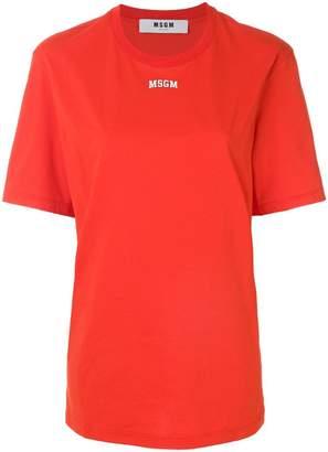 MSGM (エムエスジーエム) - MSGM ロゴ オーバーサイズTシャツ
