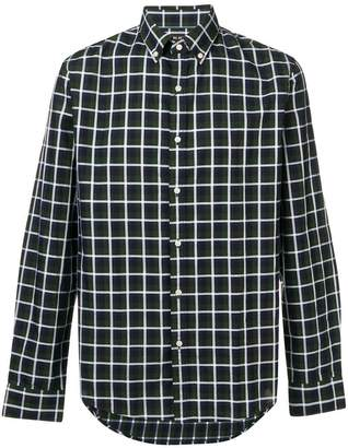Michael Kors button-down checked shirt
