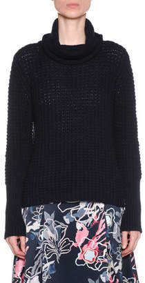 Giorgio Armani Turtleneck Chunky Wool-Cashmere Knit Sweater