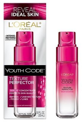 L'Oréal® Paris Youth Code Texture Perfector Serum Concentrate 1 Fl Oz $21.99 thestylecure.com