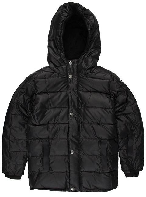 Appaman Kids - Expedition Coat (Little Kids/Big Kids) (Black) - Apparel