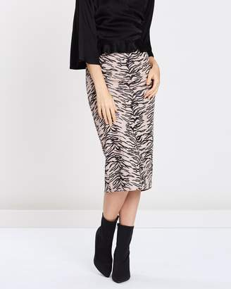 Missguided Animal Print Co-Ord Skirt