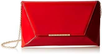 Buffalo David Bitton Womens Bag 14907 Patent Pu Top-Handle Bag Red Size: