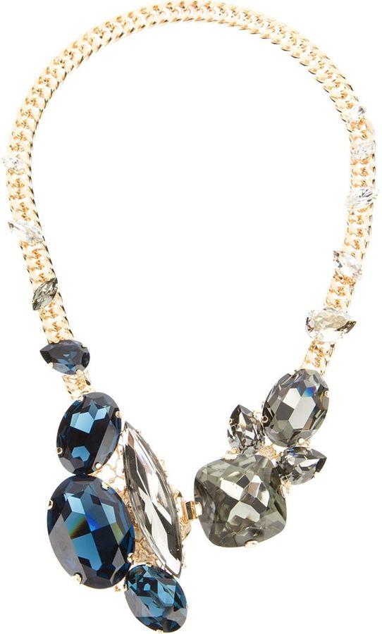 Anton Heunis swarovski crystal necklace