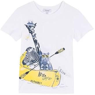 Alphabet Boy's Prince T-Shirt,(Manufacturer Size: 10A)