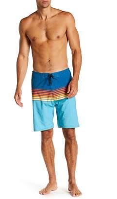 Burnside Stripe Stretch Board Shorts