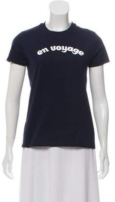 Tara Jarmon 'En Voyage' Short Sleeve Top