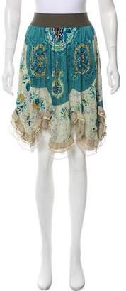Yigal Azrouel Printed Knee-Length Skirt