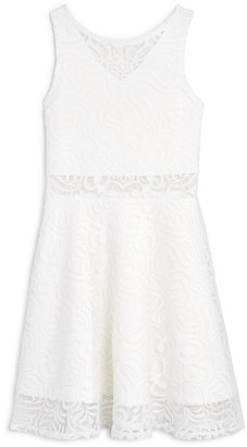 Sally Miller Girls' Flared Lace Dress - Sizes S-XL $104 thestylecure.com