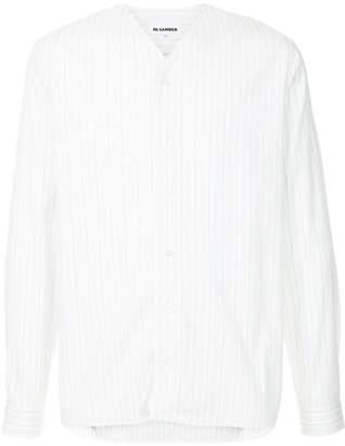 Jil Sander baseball-style shirt