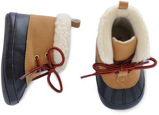Carter's Baby Boy Duck Boots Crib Shoes