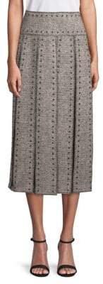 Valentino Studded Midi Skirt