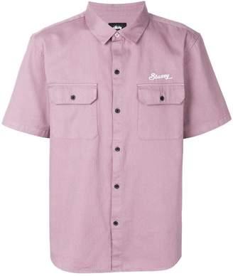 Stussy chest pocket shirt