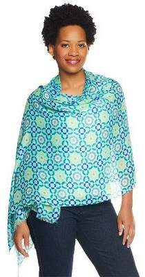 Collection XIIX Collection 18 Tile Mosaic Scarf