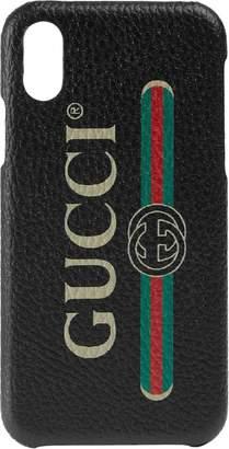 Gucci Print iPhone X case