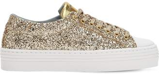 Chiara Ferragni 40mm Flirting Eye Glittered Sneakers