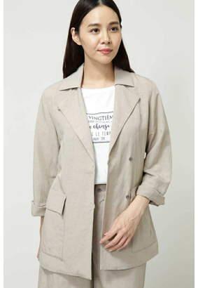 Human Woman (ヒューマン ウーマン) - HUMAN WOMAN カラーハーフコート◆ ヒューマン ウーマン コート/ジャケット