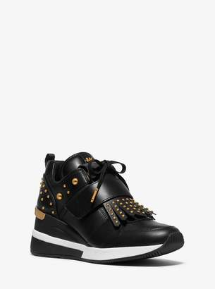 Studded Wedge Sneakers Shopstyle