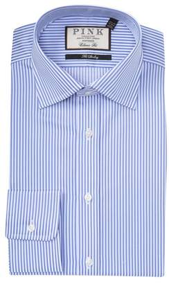 Thomas Pink Grant Striped Classic Fit Dress Shirt
