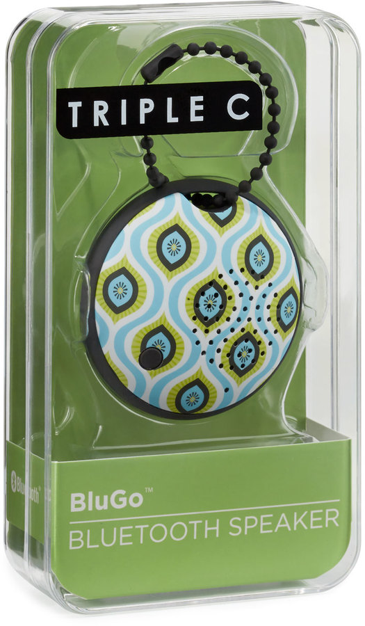 Triple C Designs BluGo Portable Bluetooth Speaker, Kiwi