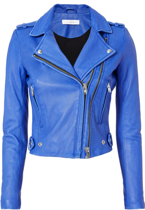 IRO Dylan Leather Moto Jacket $1,295 thestylecure.com