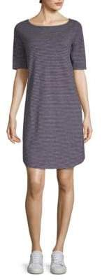Eileen Fisher Stripe Boatneck Shift Dress