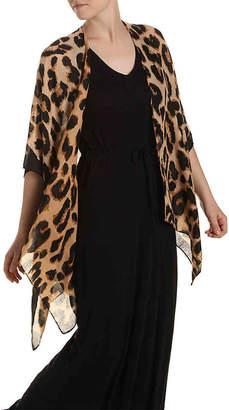Steve Madden Leopard Kimono - Women's