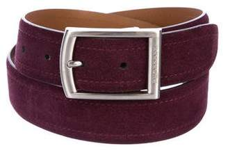 Burberry Reversible Suede Belt