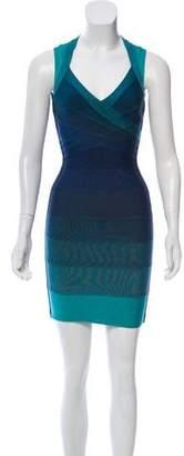 Herve Leger Amee Bandage Dress