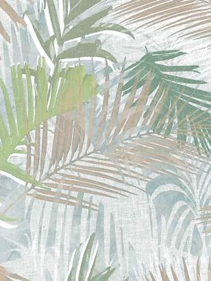 At Very Boutique Jungle Glam Wallpaper White Gold Green