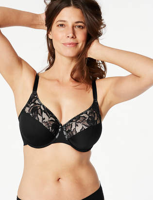 Marks and Spencer 2 Pack Non-Padded Lace Full Cup Bras DD-G 66028306e