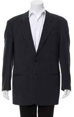 Armani Collezioni Wool Two-Button Jacket