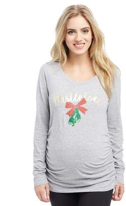 Motherhood Maternity Mistletoes Maternity Tee