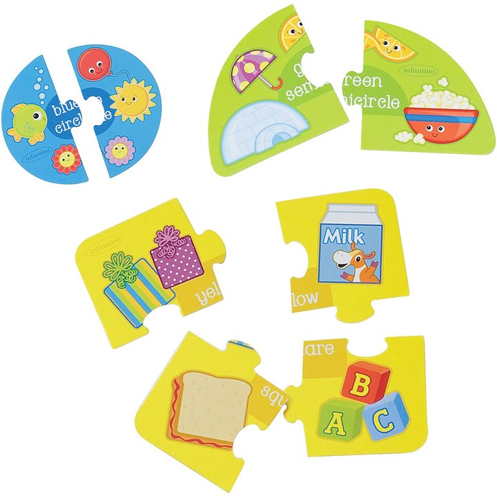 Infantino Shapes & Colors Puzzle