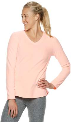 Tek Gear Women's Long Sleeve Microfleece Top