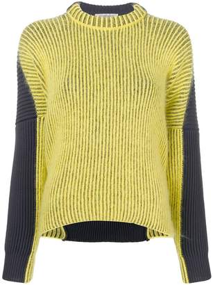Sportmax bicolour sweater