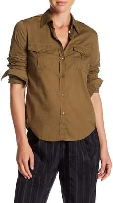 Vince Military Shirt