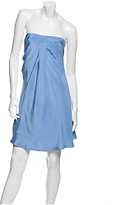 Lacey Parker Strapless Silk Jersey Dress