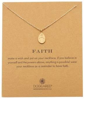 Dogeared Faith My Angel Pendant Necklace
