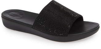 FitFlop Sola Crystalled Slide Sandal