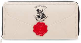 Harry Potter Hogwarts Letter Zip-Around Wallet