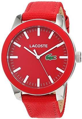 Lacoste Mens Analogue Classic Quartz Watch with Textile Strap 2010920