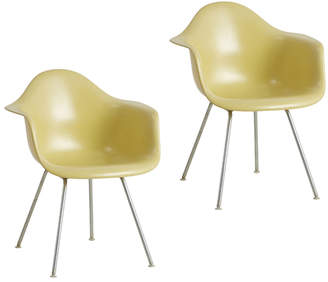Rejuvenation Pair of 2nd Generation Eames Zenith Armchairs by Herman Miller