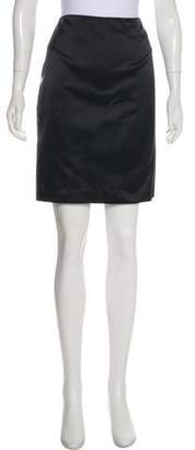 Ralph Lauren Black Label Knee-Length Silk Skirt