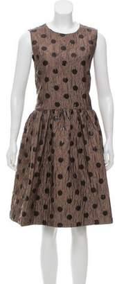 Marc by Marc Jacobs Jacquard Sleeveless Midi Dress w/ Tags