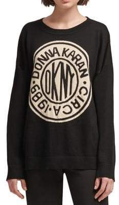 DKNY Graphic Logo Pullover