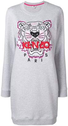 Kenzo Tiger sweatshirt dress