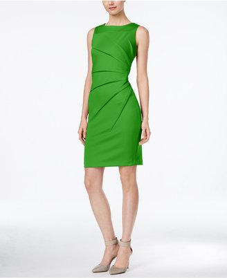 Calvin Klein Starburst Sheath Dress $89.98 thestylecure.com