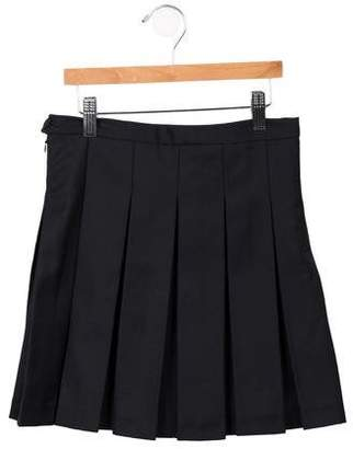 Les Coyotes De Paris Girls' Vicky Classic Pleated Skirt