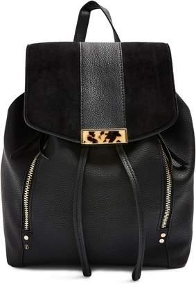 Topshop Burst Faux Leather Backpack